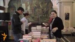 «Світ у відео»: У Тбілісі у День книги пройшов книжковий ярмарок