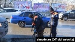 Ілюстраційне фото: ремонт дороги у Сімферополі