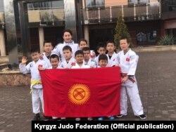 Кыргызстанские дзюдоисты после соревнований. Польша. 24 марта 2019 г.