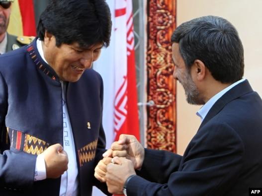 مراسم خوشآمدگویی اوو مورالس در تهران، ۲۶ اکتبر ۲۰۱۰