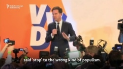 Rutte Says Netherlands Has Rejected 'Wrong Kind Of Populism'