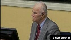 Ratko Mladić u sudnici 22.11.2013.