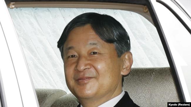 Prestolonaslednik Naruhito odlazi iz Imperijalne palate posle ceremonije abdikcije cara Akihita, 30. april 2019.