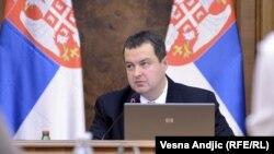 Kryeministri i Serbisë, Ivica Dacic.