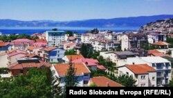 Поглед на Охрид.