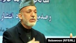 Presidenti i Afganistanit, Hamid Karzai - foto arkivi