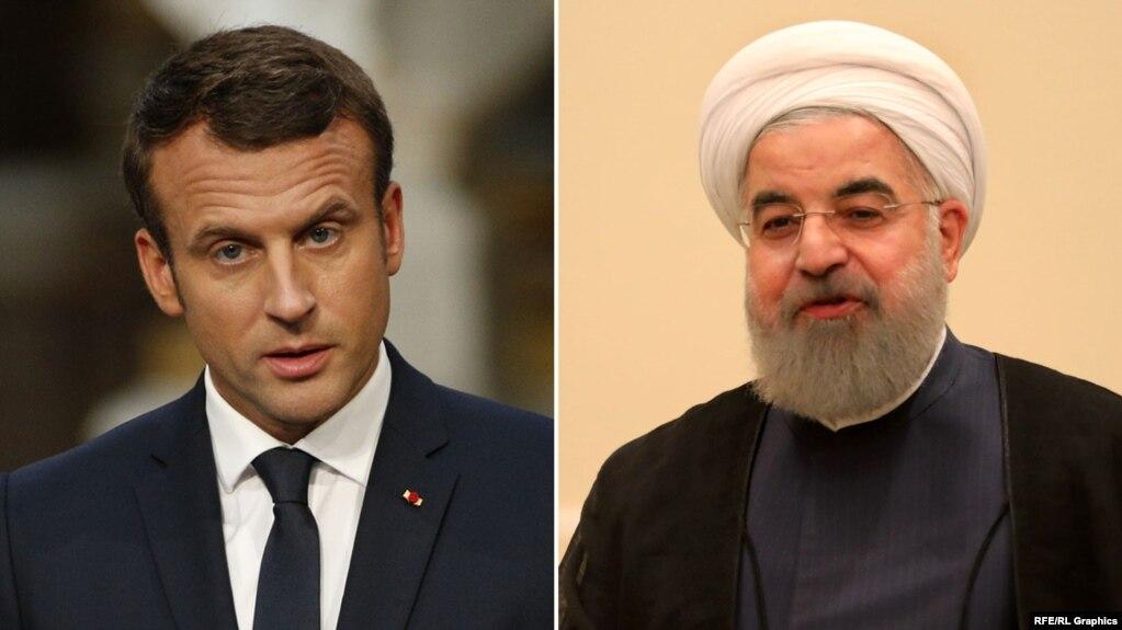 دفتر امانوئل مکرون این تماس تلفنی با حسن روحانی را تلاشی برای کاهش تنشها میان ایران و ایالات متحده توصیف کرده است