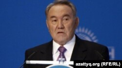 Нурсултан Назарбаев, президент Казахстана. Астана, 25 ноября 2011 года.