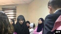Таджикские женщины в суде в Ираке. Иллюстративное фото.