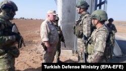 Սիրիա - Ռուս և թուրք զինծառայողները համատեղ պարեկություն են իրականացնում Այն-ալ-Արաբում, 5-ը նոյեմբերի, 2019թ․