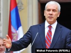 Predsednik Srbije Boris Tadić