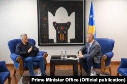 Kosovo još uvek nema opšti politički konsenzus, kaže Krasnići (Foto: Predsednik i premijer Kosova, Hašim Tači i Ramuš Haradinaj)