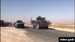 پیشروی نیروهای عراقی در کرکوک؛گزارش از ایلیا جزایری