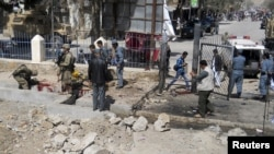 Pamje nga sulmi 4 prillit, ne provincën e Fariabit ku u vranë të paktën 12 njerëz
