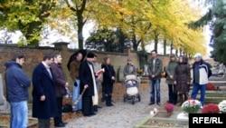 Belgium - Belarusians From Belgium and France mark Ancestors' Day in Atnwerpen, 2Nov2008