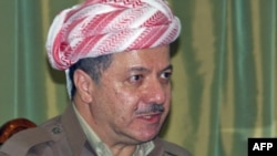 Kurdish region President Mas'ud Barzani, who is also leader of the Kurdistan Democratic Party.