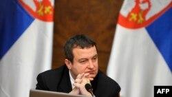 Івица Дачич на засіданні уряду, 8 квітня 2013 року