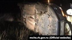 Авария в Сакском районе 12 декабря 2020 года