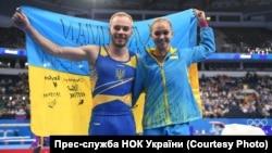 Олег Верняєв і Анастасія Бачинська