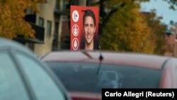 Predizborni plakati na ulicama Montreala