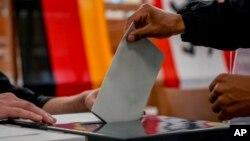 روند رایدهی در انتخابات جرمنی