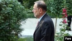 خاوير سولانا پيش از سفر به تهران گفته بود که انتظار ندارد در جريان مذاکرات با ايران «معجزه» رخ دهد.(عکس: فارس)