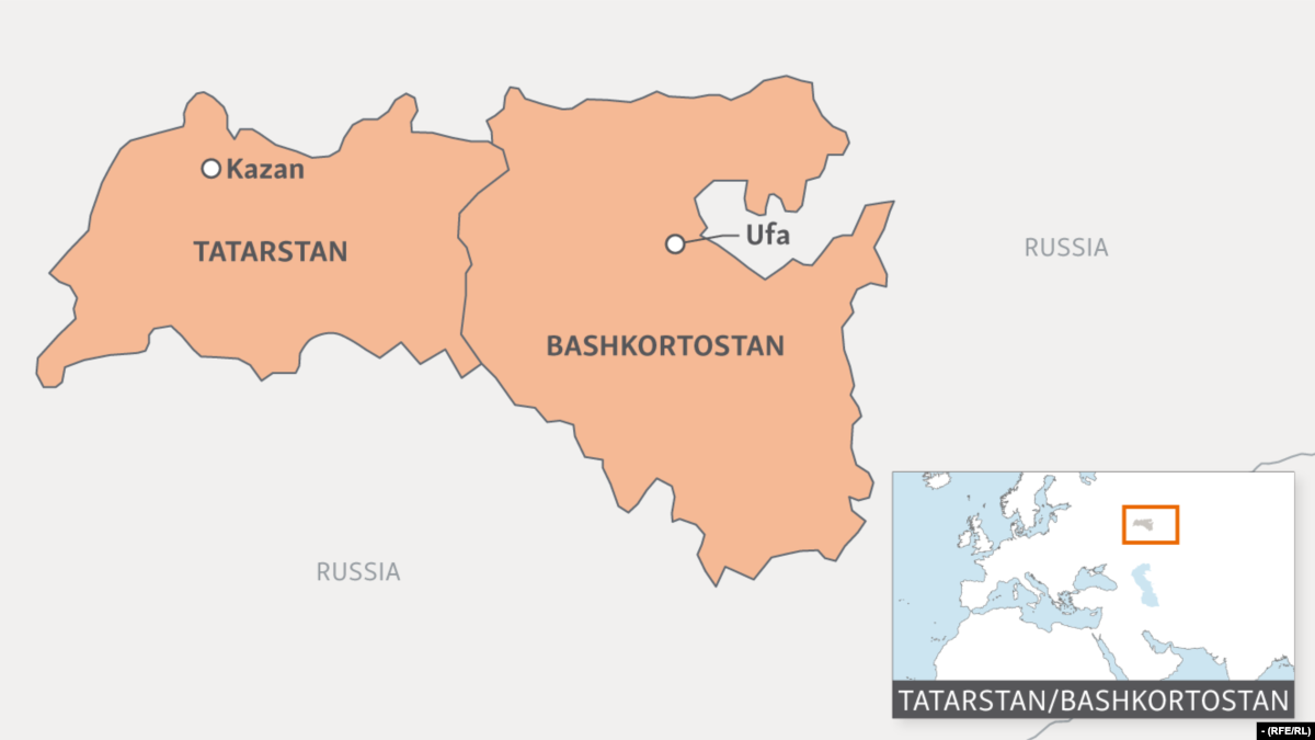 Protesters In Russia's Bashkortostan Voice Support For Bashkir Language In Schools