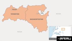 tatarstan bashkortostan map