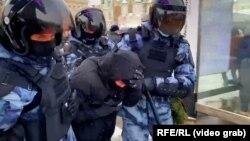 Задержания в Москве. 31 января