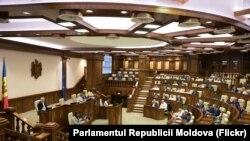În Parlamentul de la Chișinău