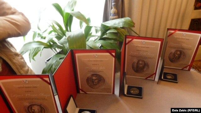 Podijeljene nagrade
