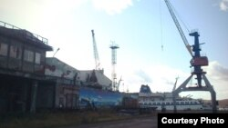 Мурманск, порт, архивное фото