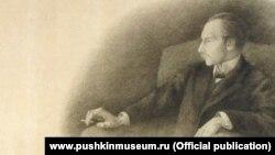 Андрей Белый, портрет А.Тургеневой