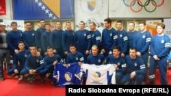Reprezentacija BiH u hokeju, 31. mart 2015. godine