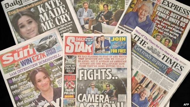 برخی از رسانهها و مردم در بریتانیا در واکنشهای اولیه از این زوج انتقاد کرده و میگویند که آنها مسئولیت و وظایف خود به عنوان عضو خانواده سلطنتی را فدای خوشبختی شخصی خود کردهاند.
