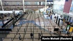 Aeroporti në Denver.