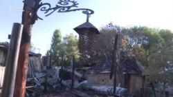 Этнокомплекс «Супара» после пожара