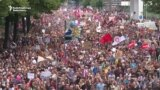 Thousands March Against G20 Summit In Hamburg