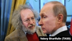 A.Venediktov və V.Putin