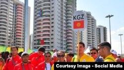 Кыргызстан олимпчилери.