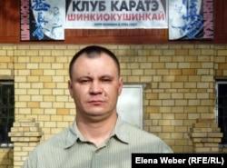 Андрей Петровский, директор школы каратэ в Темиртау.