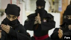The suspension of the Reuters accreditations came after a complaint over a video showing women's martial-arts training in Iran.
