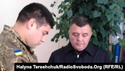 Затримання екс-директора Львівського бронетанкового заводу Олександра Остапця (п)