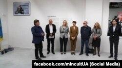 Передпрем'єрне відкриття національного павільйону України у рамках 57-ї міжнародної виставки мистецтв – La BIENNALE di VENEZIA (Фото зі сторінки Міністерства культури України у Facebook)