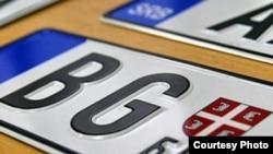 Nove registracijske tablice automobila u Srbiji
