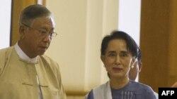 آقای چیاو، ریاست جمهوری خود را پیروزی خانم سو چی دانسته است.