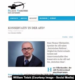 """Hans-Thomas Tillschneider în """"Narcisa Albastră"""""""