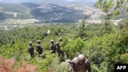 Сирия мен Түркия шекарасы. 29 маусым. 2011
