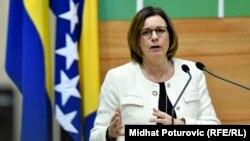 Potpredsjednica Vlade Švedske i ministrica za okoliš Isabella Lovin