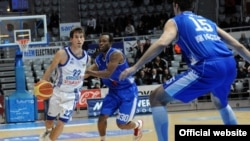 Detalj sa utakmice Zadar-Igokea